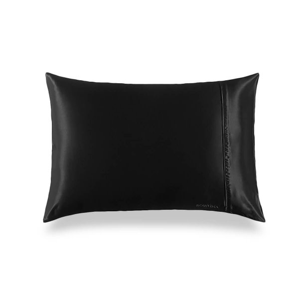 Black 30 Momme Housewife Luxury Pillowcase